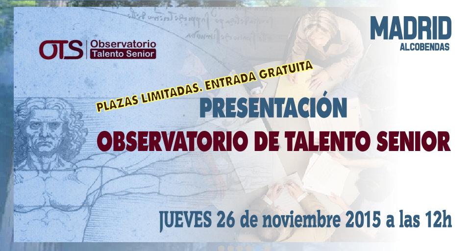 2015-11-26 Observatorio del Talento Senior