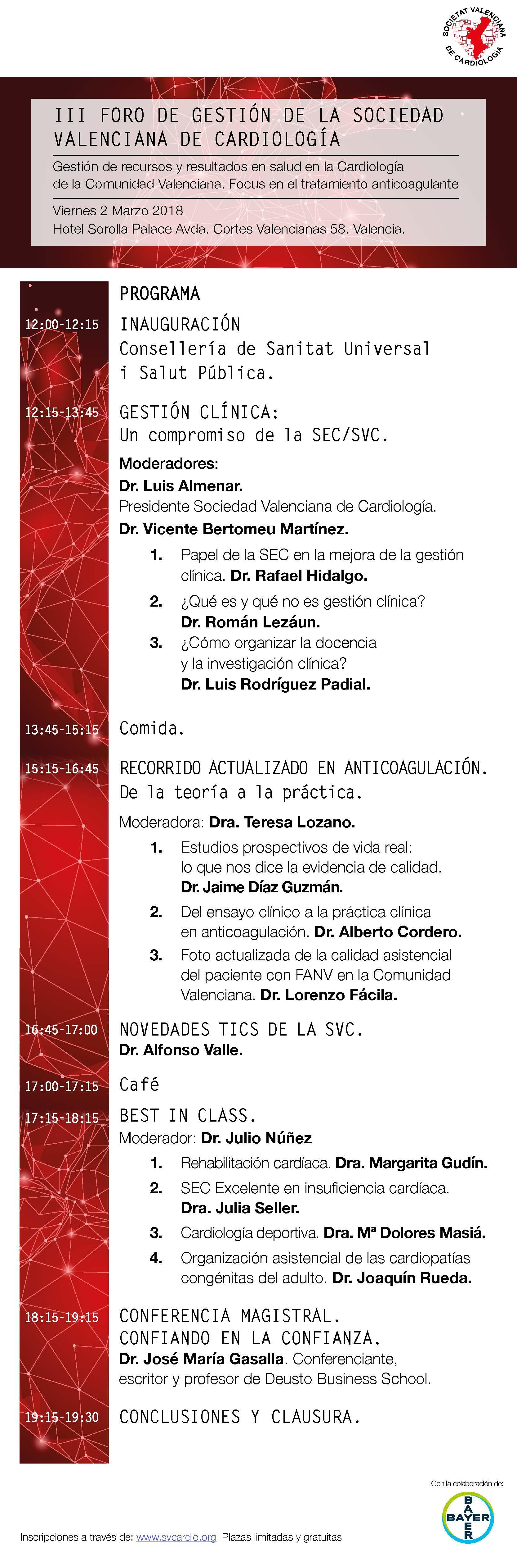 programa-iii-foro-gestion-sociedad-valenciana-cardiologia