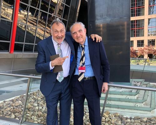 Con Paco Segrelles en Bankia