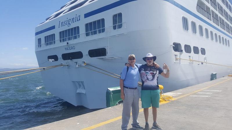 Con Oscar en Puntarenas