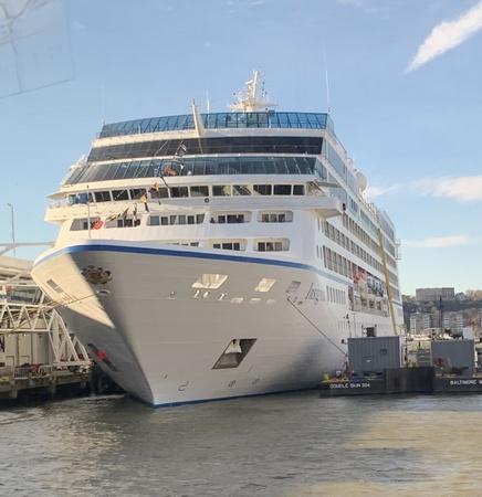 El Insignia,el barco que nos va a llevar a dar la vuelta al mundo