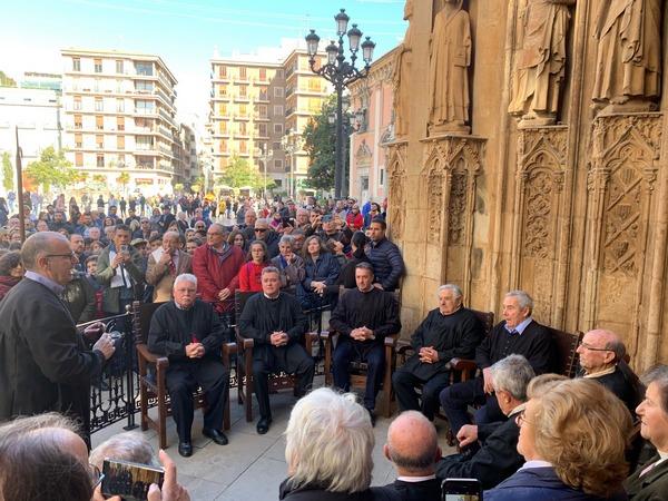 En el Tribunal de las aguas en Valencia con Pepe Mujica